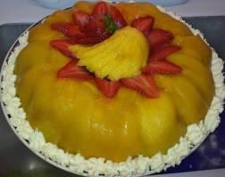 Double Mango & Almond Cake